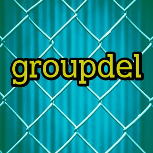 groupdel